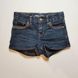 """Levi's """" Shorty Short""""  Indigo Denim Shorts"""